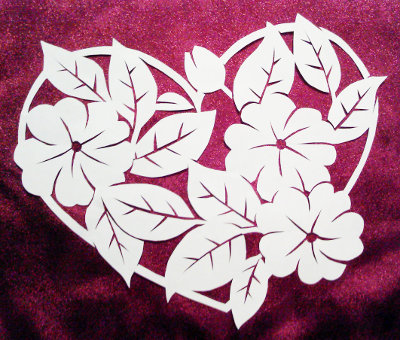 Nov 12 stencilletta papercutting blog cut paper design flower heart mightylinksfo