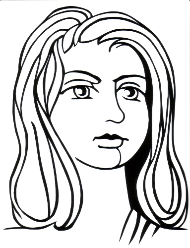 cut paper design Tough Girl