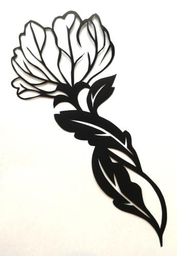 cut paper design Blossom