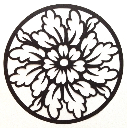 cut paper design Marigold Circle