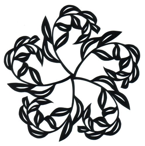 cut paper design Tree Forms