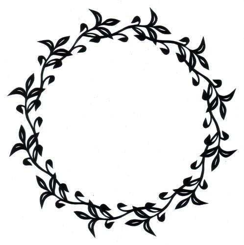 cut paper design Dainty Frame