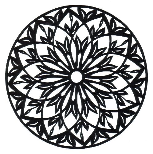 cut paper design Elaborate Rosette