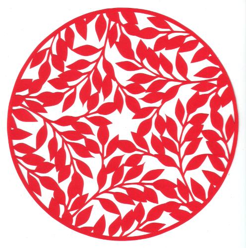cut paper design Leafy Canopy