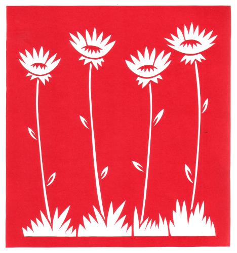 Field flowers permalink page stencilletta papercutting blog cut paper design field flowers mightylinksfo